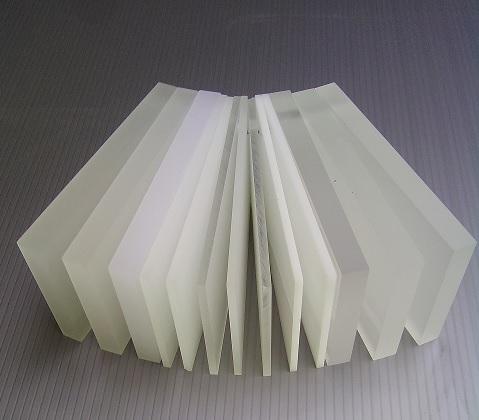 plastic platen doorzichtig